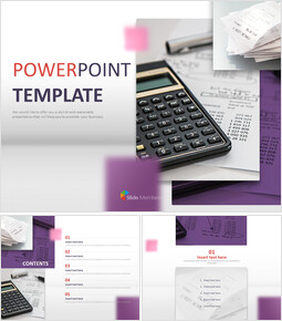 Year-end Tax Adjustment - Free Powerpoint Templates Design_6 slides