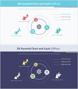 3D 피라미드 형 차트 및주기 (Office)_00