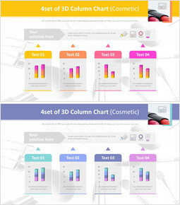 4set of 3D Column Chart (Cosmetic)_00