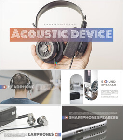Acoustic Device Simple Presentation Google Slides Template_00