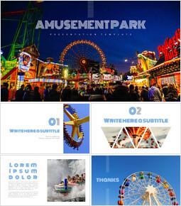 Amusement park Easy Google Slides_00