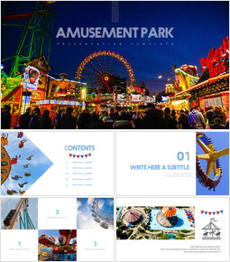Amusement park Easy Presentation Template_00