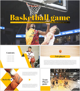 Basketball Game PPT Presentation_00