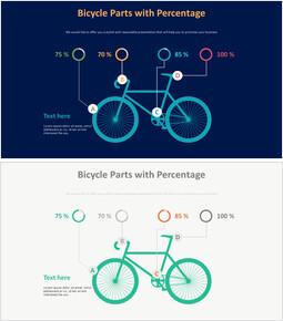 백분율이있는 자전거 부품 다이어그램_00