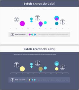 Bubble Chart (Solar Color)_4 slides