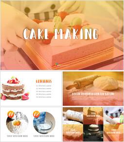 케이크 만들기 심플한 파워포인트 디자인_00