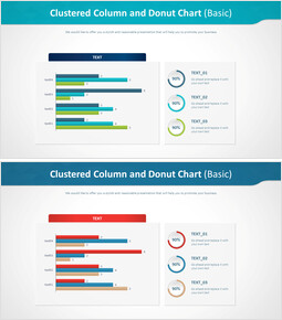 Clustered Column and Donut Chart (Basic)_00