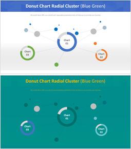 도넛 형 차트 방사형 클러스터 (파란색)_00