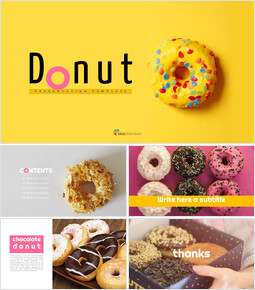 Donut Simple Google Slides Templates_00