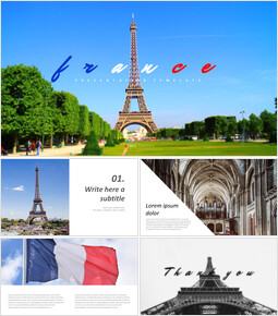 France Easy Google Slides Template_00