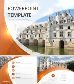 Free PPT Sample - Classy Castle_00