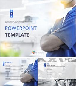 Free PPT Template - doctors_6 slides