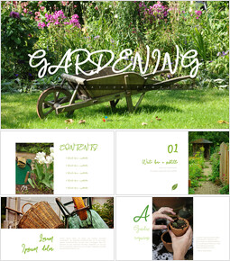 Gardening - Easy Presentation Template_10 slides