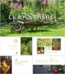 Gardening - Simple Google Slides Templates_00
