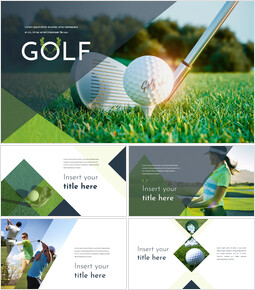Golf Google Slides Template Design_00