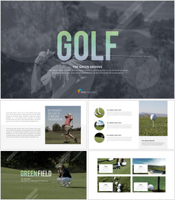 Golf The Green Groove Diseño de Plantillas_00