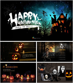 Happy Halloween(Trick or Treat) Simple Templates_00