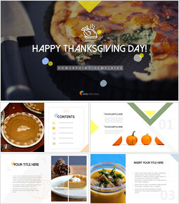 Happy Thanksgiving Simple PowerPoint Templates_00