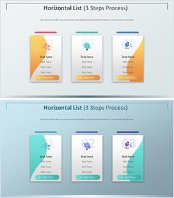 수평 목록 다이어그램 (3 단계 프로세스)_00