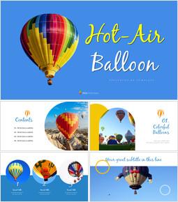 Hot air balloon Simple Templates Design_00