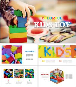 Kids toy Easy Presentation Template_00