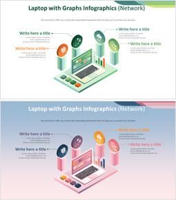 그래프가있는 노트북 Infographics 다이어그램 (Network)_00
