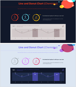 Line and Donut Chart (Chemistry)_00