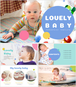 Lovely Baby Easy Presentation Template_00