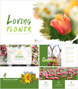 Loving Flower - PPT Presentation_11 slides