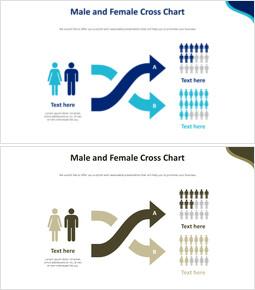 남성과 여성 크로스 차트 다이어그램_00