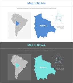볼리비아 지도 다이어그램_2 slides
