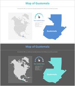 과테말라 지도 다이어그램_2 slides