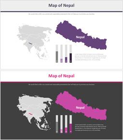 네팔 지도 다이어그램_2 slides