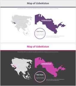 우즈베키스탄지도 다이어그램_2 slides
