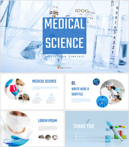 Medical science Simple Slides Design_00