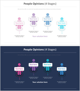 people Opinions Diagram (4 Stages)_2 slides