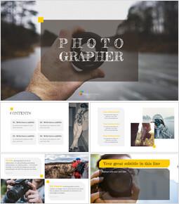 Photographer Simple Presentation Google Slides Template_00