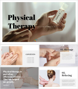 Physical therapy Easy Presentation Template_00