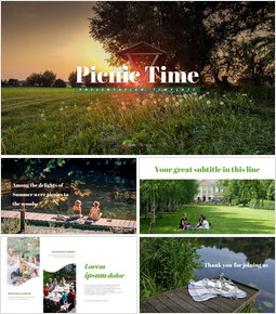 Picnic Time - Easy Google Slides Template_00