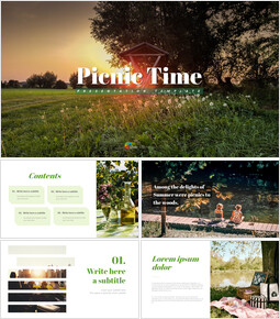 Picnic Time - Free Powerpoint Sample_00