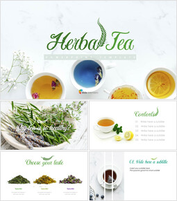 PPT Presentation - Herbal Tea_10 slides