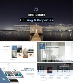 Real Estate (Housing & Propertie) Easy Presentation Template_00