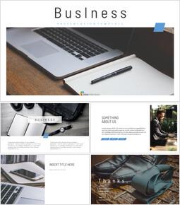 영업 비즈니스 심플한 Google 슬라이드 템플릿_00