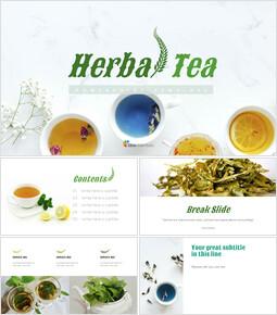 Simple Google Slides - Herbal Tea_10 slides