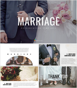 Simple Presentation Google Slides Template - Marriage_00