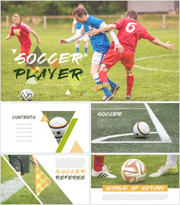 Soccer Player PPT Presentation_00