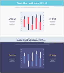 아이콘이있는 주식 차트 (사무실)_00