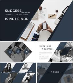 성공은 최종이 아니다 - 심플한 프레젠테이션 Google 슬라이드 템플릿_00