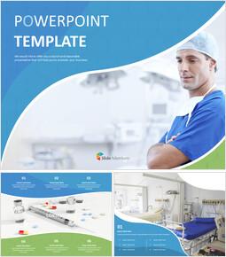 외과 의사 - 무료 PowerPoint 템플릿_00