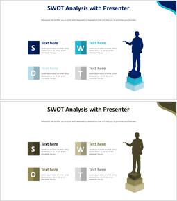 발표자와 함께하는 SWOT 분석 다이어그램_00